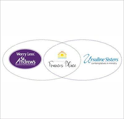Urusline Sisters and St. Andrew's logos